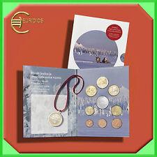 """Kursmünzensatz Finnland 2015 BU """"Weihnachten"""" mit 5 € Rentier + Medaille"""
