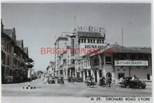 1950's SINGAPORE ORCHARD ROAD STREET SCENE 6x4 PHOTO B023