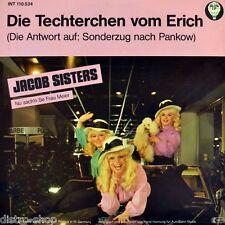 """7"""" Jacob Sisters techterchen Erich Honecker Udo Lindenberg affittato dopo Pankow"""
