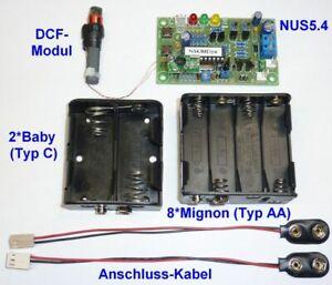 Mutteruhr, Hauptuhr, Zentraluhr, Batteriebetrieb, Steuerung für Nebenuhr mit 12V