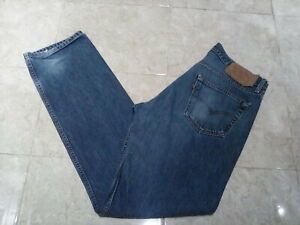 Mens LEVI'S 501 Classic Straight Jeans  , size 34W 34L