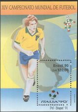 Brazil 1990 Football/World Cup Championships/WC/Sport/Games/Soccer 1v m/s n43528