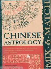 Chinese Astrology, Flip Guide, Discover compatibility, by; Richard Craze HB Book