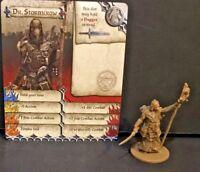 Zombicide Black Plague: Kickstarter Exclusive: Dr. Stormcrow w/ card CMoN