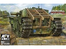 AFV Club 1/35 Churchill Mk IV AVRE with Fascine Carrier #35288 *new*