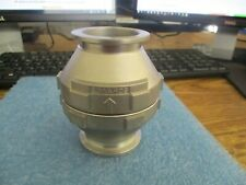 BOC Edwards Stainless Steel Vacuum Ball Check Valve.  NW40.  New Old Stock    <