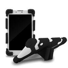 Étuis, housses et coques noirs universels en silicone, caoutchouc, gel pour téléphone mobile et assistant personnel (PDA)