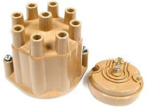 For 1968 Jeep J2800 Distributor Cap and Rotor Kit Accel 97596SZ Distributor Cap