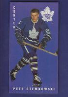 Pete Stemkowski 1994-95 Parkhurst '64-'65 ''Tallboys'' Reprint #113