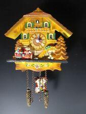 Kuckucksuhr Magnet,Poly Schwarzwald Souvenir Germany,richtige Uhr !!!,12 cm