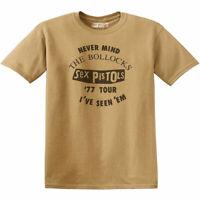 Sex Pistols ''77 Live Tour: I've Seen Em' Vintage Style T-Shirt *Official Merch*