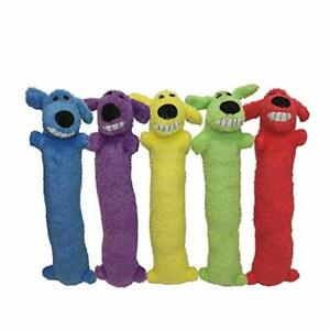 Multipet Loofa Dog Plush Toy (Colors May Vary) Large 18 Inch