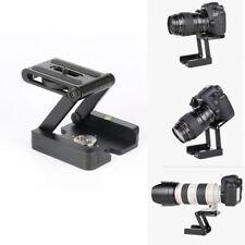 Load Lega Alluminio Mehrwinkel Klapp Z-Typ Testa a Sfera per DSLR Camera Nero