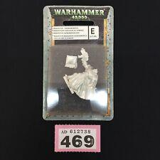 WARHAMMER 40,000 40K DAEMONHUNTER INQUISITOR BOOK BOLTER METAL IN BLISTER OOP