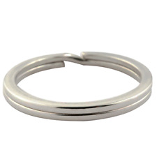 Schlüsselringe Ø 10-50 mm gehärtet Stahl vernickelt Key Rings Schlüssel Ring