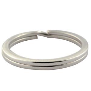 Schlüsselringe Ø 10-50 mm gehärtet Stahl verzinkt Key Rings Schlüssel Ringe Ring