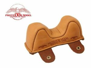 Protektor Model - #2 Leather Front Owl Shooting Rest Bag - MADE IN USA