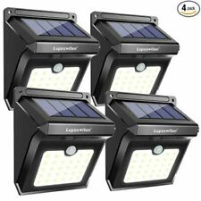 Solar Lights Outdoor,Super Bright Solar Security Lights with Motion x4