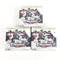 2020 Topps Chrome Update Series Lot Of 3 Baseball Mega Box SEALED