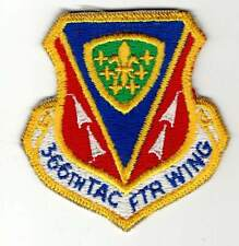 USAF patch - 366th Tactical Fighter Wing - Mountain Home AFB - TAC - F-15