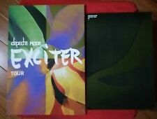 Depeche mode - tour book exciter