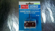 * PL-10e Peco Point Motor extended Pin Version Scale 00 / HO Scale