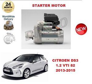 FOR CITROEN DS3 1.2 VTI 82 2013-2015 STARTER MOTOR