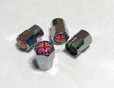 Classic Mini New Set of Four Union Jack Valve Stem Caps