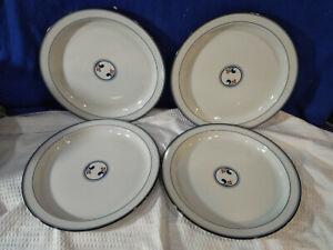 DANSK~Lindholm~Dinner Plates~Set of 4~NICE!