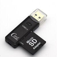 SDXC/MMC TF Card Reader Adapter Card Micro TF Adapter USB SD Reader Brand New