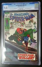 Amazing Spider-Man #90 Marvel Comic CGC 9.6 Death of Captain George Stacy