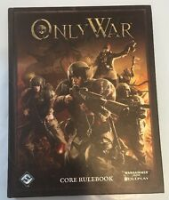 Only War... by Fantasy Flight Games 2012 Hardcover Core Rule book Warhammer 40k