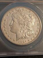 1894-O Morgan Dollar $1 ANACS AU-50