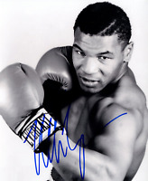 Mike Tyson Autograph Glossy 8x6 Inches Hologramed Boxing Iron Mike