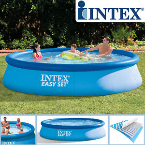 Intex 366x91 cm Swimming Pool Schwimmbecken Schwimmbad Planschbecken Easy 28914