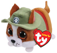 """Ty Beanie Boos Teeny Tys 4"""" Paw Patrol TRACKER Chihuahua Dog Stackable Toy MWMTs"""