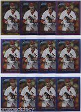 Lot of (150) Chris Carpenter 2012 Bowman Chrome COLOR Cards - St Louis Cardinals