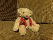 "Rare 9"" Adorable Hallmark Tyler Plush Bear wearing Vest & Bowtie (*35)"