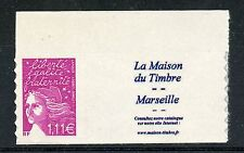 STAMP / TIMBRE PERSONnALISE MARIANNE FRANCE  N° 3729D ** MARSEILLE / COTE 13 €