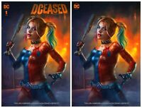 DCEASED #1  Shannon Maer Variant Set DC Comics 1st Print NM Limited To 1000