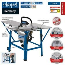 Scheppach Tischkreissäge TS310 im Set mit Zubehör, inkl. 2 Sägeblatt, 230V