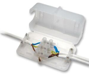 20 x Chocbox enclosed connection Electrical Lighting Junction Box Plastic