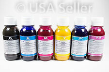 6x100ml Premium sublimation ink for Epson 6 color printers