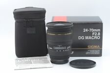 Exc' SIGMA 24-70mm F/2.8 EX DG Macro Lens Ror SONY/MINOLTA From Japan 115139