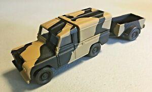 Corgi Diecast Military Army Landrover Pick-Up 1/43
