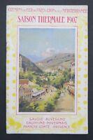 Guide touristique PLM SAISON THERMALE 1907 Chatelguyon Savoie Auvergne Provence