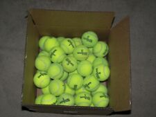 Lot of 40 Used Wilson tennis balls in good condition.