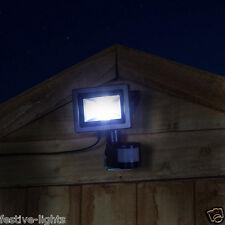 Ultra Compact à Énergie Solaire Extérieur Jardin Mur Détecteur de Mouvement Lumière DEL
