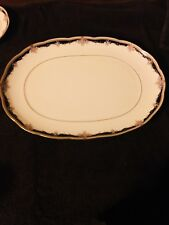 Noritake Fine China #9773 PALAIS ROYAL 16 inch Oval Serving Platter Mint