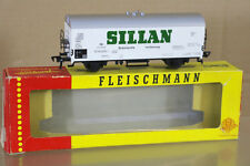 FLEISCHMANN 1467S DB SILLAN Kühlwagen REFRIDGERATOR WAGON 576980 MINT BOXED ni